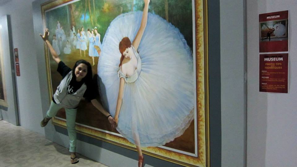 I wanna dance with a ballerina and be a ballerina myself.
